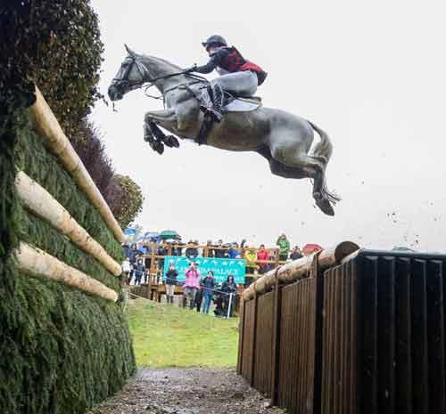 Martin Collins support the SsangYong Blenheim Palace International Horse Trials